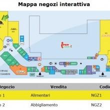 Una mappa negozi interattiva