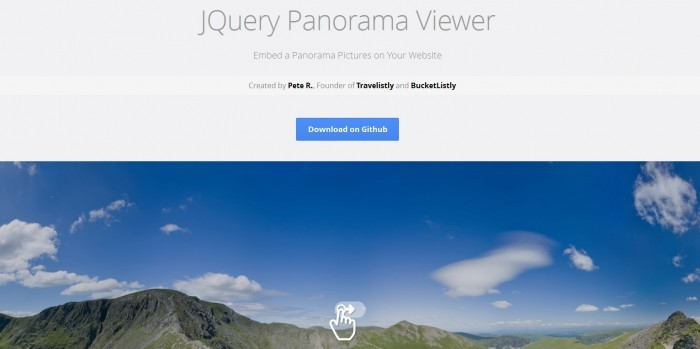 jQuery Panorama Viewer